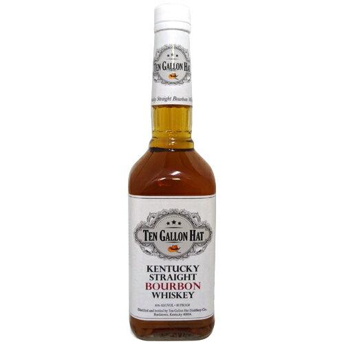 テンガロンハット ウイスキー 700ml瓶 1320円【WHISKY,TEN GALLON HAT】