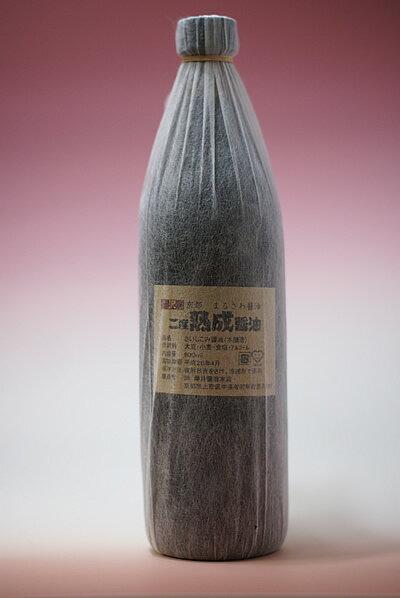 京都まるさわ二度熟成醤油イメージ