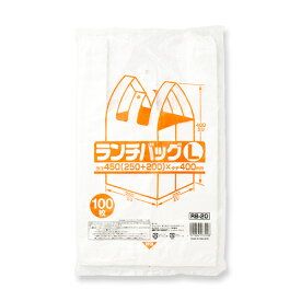 弁当用 レジ袋 ランチバッグ L 【業務用】