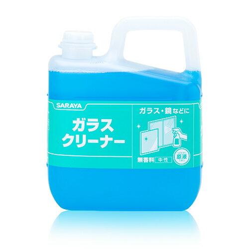サラヤ ガラスクリーナー5kg 【業務用】