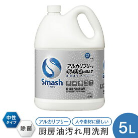 花王プロフェッショナル Smash スマッシュ 厨房油汚れ用洗剤 5L 【業務用】
