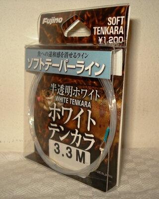【釣り糸・フジノ・Fujino】ホワイトテンカラ 3m〜4m