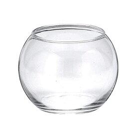 フジベース FB-1079 ガラス 容器 テラリウム テラリウムポット 透明 花器 ビューレット 最大幅約8cm×高さ約6cm(口径約Φ6cm) 内容量250cc