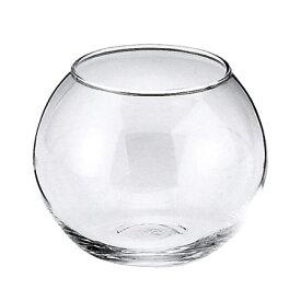 フジベース FB-39 ガラス 容器 テラリウム テラリウムポット 透明 花器 ビューレット 最大幅約11cm×高さ約8.5cm(口径約Φ7cm) 内容量650cc