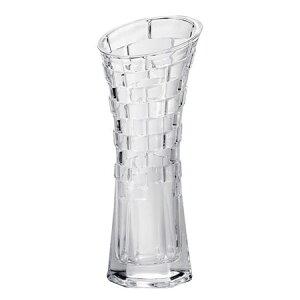フジベース FB-1215 テクスチャーベース(M) 花びん ガラス製 容器 透明 花器 おしゃれ フラワーベース 花瓶 幅約10.3cm×高さ約23cm