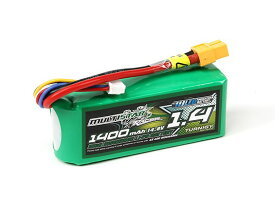 no2 MultiStar 14.8V 1400mAh 40C80C リポ