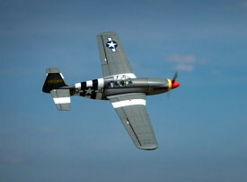 "VQ Model P-51B Mustang 'Berlin Express' ARF 1580mm (62.2"") from H-King (for Electric or I.C.)"