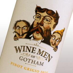 ワイン・メン・オブ・ゴッサム・ピノ・グリージョ 南オーストラリア パーカーポイント86点