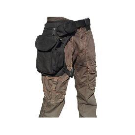 nakira 腿にベストフィット! ホルスターバッグ ウェストポーチ 腿用 バイク バッグ 多機能