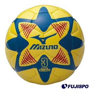 サッカーボール3号球(12OS35045)ミズノサッカーボール3号球イエロー×ブルー×レッド【ミズノ/Mizuno】