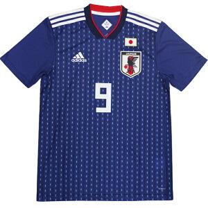 アディダスサッカー日本代表ホームレプリカユニフォーム半袖岡崎慎司(DRN93-OKAZAKI)アディダス(adidas)レプリカウェア日本代表
