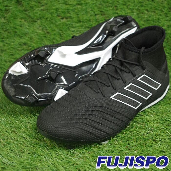プレデター 18.2 FG/AG アディダス(adidas) サッカースパイク コアブラック×コアブラック×ランニングホワイト (DB1996)【2018年7月アディダス】