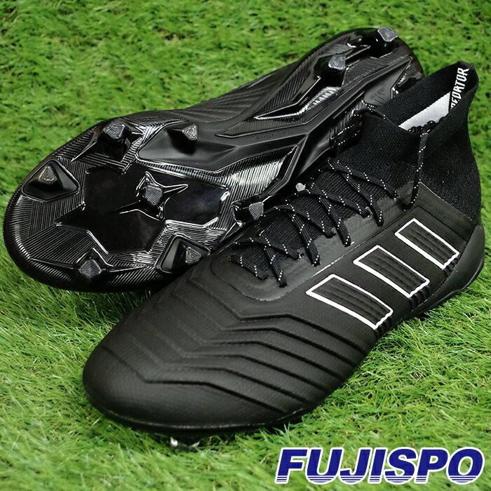 プレデター 18.1 FG/AG アディダス(adidas) サッカースパイク コアブラック×コアブラック×ランニングホワイト (DB2038)【2018年7月アディダス】