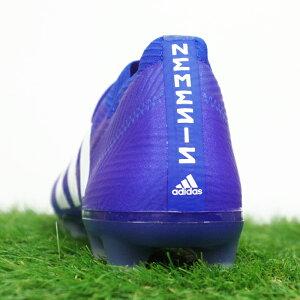 ネメシス18.1FG/AGアディダス(adidas)サッカースパイクフットボールブルー×ランニングホワイト×フットボールブルー(DB2080)【2018年8月アディダス】