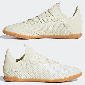 エックスタンゴ18.3INJアディダス(adidas)ジュニアトレーニングシューズオフホワイト×コアブラック×ゴールドメット(DB2427)【2018年9月アディダス】【先行予約:2018年9月25日発売予定】
