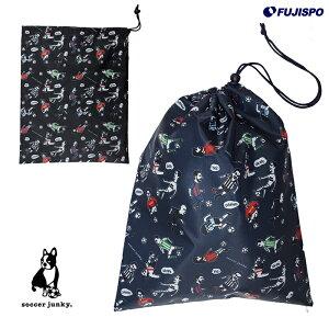 褐色の悪魔+11(マルチケース)(SJ18573)サッカージャンキー(soccerjunky)マルチバッグ巾着袋