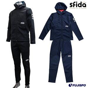 防風パーカー・パンツ上下セット(SA18A17-SA18A18)スフィーダ(SFIDA)防風ジャケット防風パンツトレーニングウエア上下セット