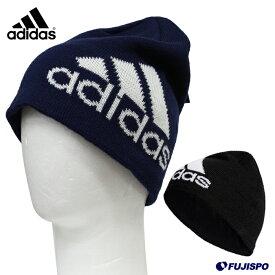 6a915885a43ca ビックロゴビーニー (FKL56)アディダス(adidas) ビーニー ニットキャップ ニット帽 防寒