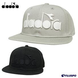 ロゴキャップ (DTA9781)ディアドラ(DIADORA) キャップ 帽子【熱中症対策】