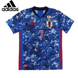 【4月29日〜5月11日ポイント10倍!!】サッカー日本代表 2020 ホーム レプリカ ユニフォーム No.7 (GEM11-GAKU)アディダス(adidas) レプリカウェア 日本代表