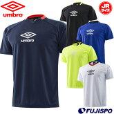 ジュニアTRロゴプラクティスシャツ(UUJLJA59)アンブロ(umbro)ジュニアキッズプラクティスシャツトレーニングシャツ半袖