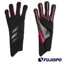 プレデター GL PRO(IRI28-FS0395) キーパーグローブ キーパー手袋 ブラック×ブラック×ショックピンク アディダス(a…