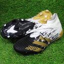 プレデター ミューテーター 20.1 FG アディダス(adidas) サッカースパイク フットウェアホワイト×ゴールドメタリック…