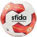 VAIS JR 4号球(BSF-VA03)スフィーダ サッカーボール 4号球 ホワイト×レッド【スフィーダ/SFIDA】