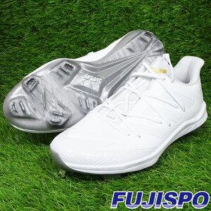 【楽天スーパーセール中ポイント5倍!】アフターバーナー 7 METAL アディダス(adidas)【野球・ソフト】白スパイク 金具 紐 白スパ(FY1966)フットウェアホワイト×フットウェアホワイト×シル