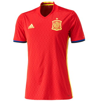 Representative from soccer Spain home replica uniform short sleeves (aao60-al4411) Adidas replica shirt