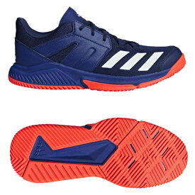 【あす楽対応】 アディダス adidas ハンドボールシューズ STABIL ESSENCE AC7504 ダークブルー/ランニングホワイト/ソーラーレッド キャッシュレス・消費者還元事業 5%