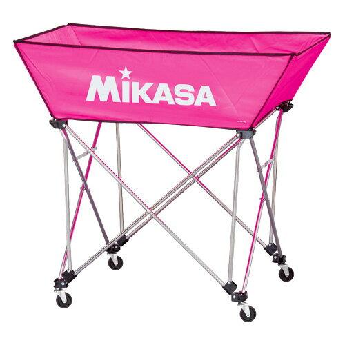 MIKASA ミカサ ボールカゴ 3点セット 舟形 中 ピンク BC-SP-WM-P 【取り寄せ品】
