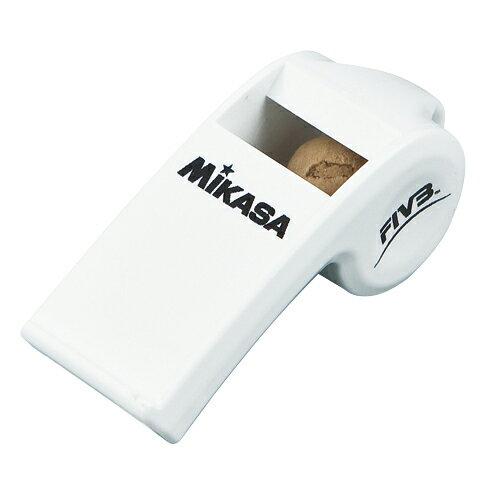 MIKASA ミカサ バレーボール審判用 ホイッスル パルマスター ホワイト コルク入り PUL-W 【取り寄せ品】