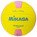 MIKASA ミカサ スマイルドッジボール 2号 SDB2-YP 【取り寄せ品】