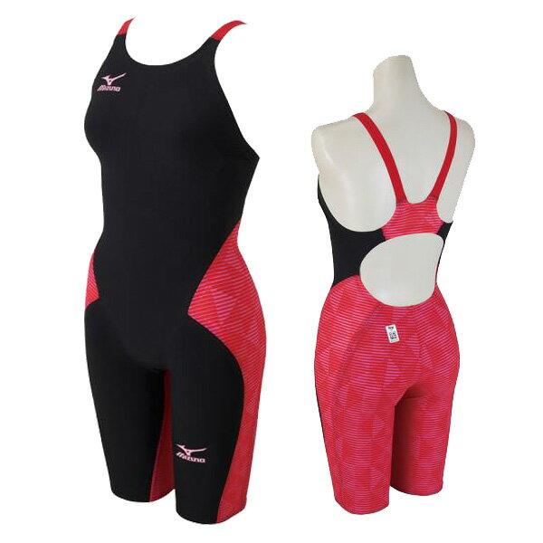 【あす楽対応】 Mizuno ミズノ レディース 競泳水着 ハーフスーツ GX・SONIC3 MR N2MG6202 96カラー