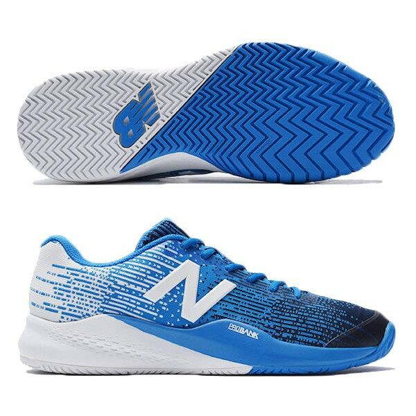 【あす楽対応】 newbalance ニューバランス テニスシューズ メンズ MC996UE3 2E BLUEカラー オールコート用