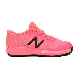 【あす楽対応】 ニューバランス newbalance テニスシューズ オールコート ジュニア キッズ ガールズ KC996GP4 W GUAVAカラー