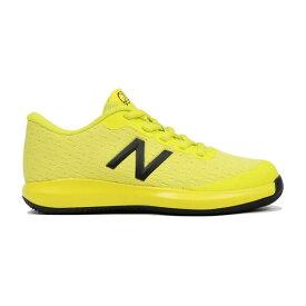 【あす楽対応】 ニューバランス newbalance テニスシューズ オールコート ジュニア キッズ ボーイズ KC996SY4 W YELLOWカラー