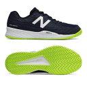 【あす楽対応】ニューバランス newbalance テニスシューズ メンズ オールコート MCH896H2 2E NAVYカラー