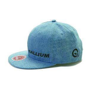 ガリウム GALLIUM クロスカントリースキー アルペンスキー スノーボード 帽子 フラットバイザー キャップデニム KC0025 【クロスカントリースキー店舗】