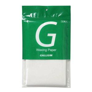 ガリウム GALLIUM クロスカントリースキー アルペンスキー スノーボード チューンナップ ワクシングペーパー TU0198 【クロスカントリースキー店舗】