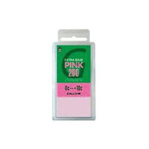 GALLIUM ガリウム ワックス エクストラベース ピンク(200g) SW2080 クロスカントリースキー 【クロスカントリースキー店舗】