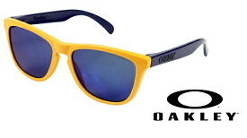 OAKLEY 【AQUATIQUE COLLECTION】 FROGSKINS Drop off/Blue Irid 【009013-5517-24-362】