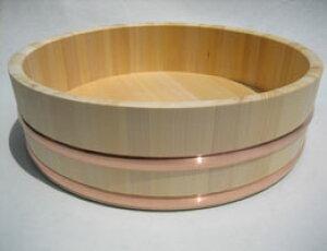 国産高級さわら材 寿司桶 飯切 約6升用 72cm