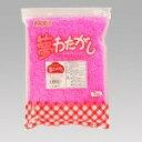 綿菓子用夢わたがし(色・味・香り付きザラメ) (イチゴ)1kg