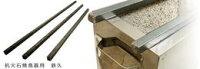【焼き鳥道具備品】鉄久(鉄棒)単品(SC-450用)12×12×490mm抗火石焼鳥器用ロストル