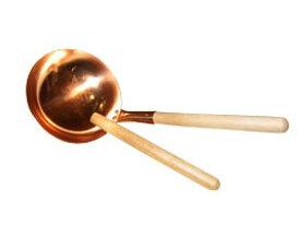 純銅製「カルメ焼き器」かき回し棒付き