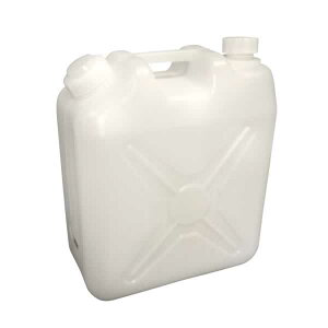 給水タンク 飲料水用ポリタンク 20L ノズル付