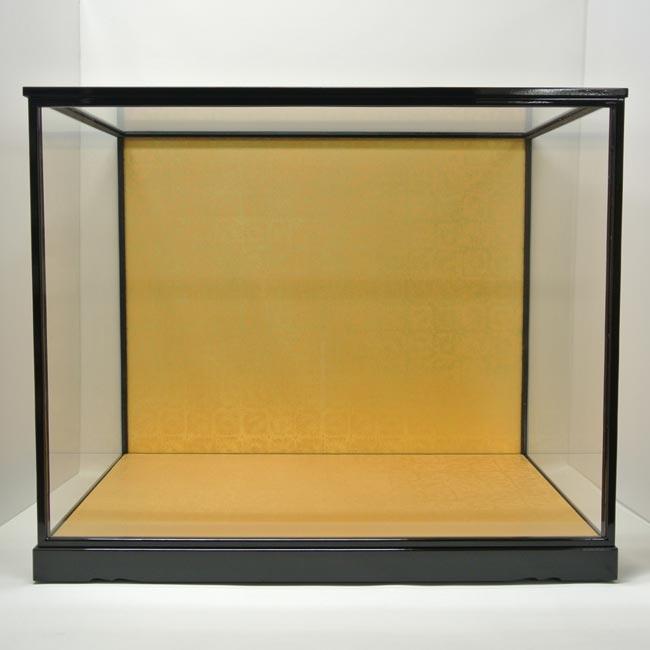 人形用ガラスケース(前扉式)『横長タイプ 75−60』(内寸:幅75cm×奥行45cm×高さ60cm)