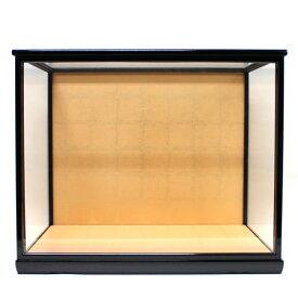 人形用ガラスケース(前扉式)『横長−特大』(内寸:幅50cm×奥行30cm×高さ40cm)